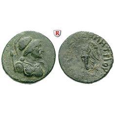 Kilikien, Seleukeia am Kalykadnos, Bronze 2.-1.Jh. v.Chr., ss: Bronze 20 mm 2.-1.Jh. v.Chr. Magistrat Demetrios; drapierte Büste der… #coins