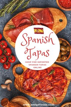 Shop for classic Spanish tapas online. Spanish Cheese, Spanish Olives, Spanish Tapas, Tapas Recipes, Tapas Ideas, Tuna In Olive Oil, Best Spanish Food, Manchego Cheese, Best Appetizers