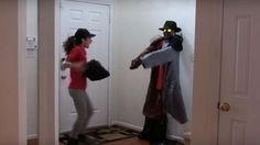A Coat Rack Comes To Life In This Hilarious Prank Video - Neatorama