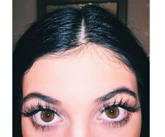 Well. Kylie Jenner's new eyelash selfie has certainly got us talking... Guess her secret?! http://lookm.ag/msArfk