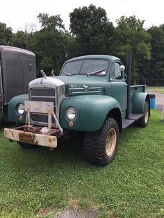 Old Pickup Trucks, Mack Trucks, Dodge Trucks, Cool Trucks, Big Trucks, Mack Attack, Truck Transport, Cab Over, Heavy Truck