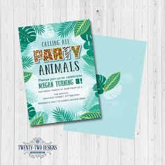 perfect for a kids jungle themed party print as many as needed from home more information more information find this pin and more on mockups free