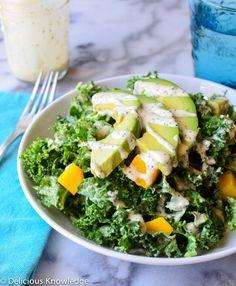 kale  mango poppyseed salad
