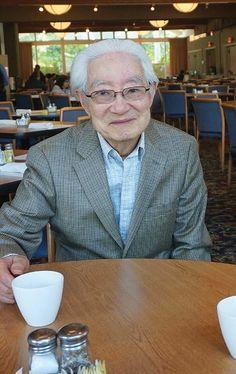 Translator Peter Lee in Los Angeles