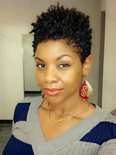 Follow me on INSTAGRAM @TheLionessChronicles for more short natural hair style ideas!!!