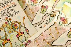 Art Studio: Hand-Painted Invitations