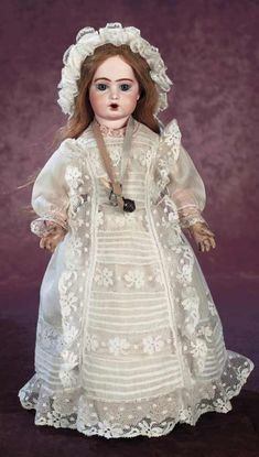A Cherished Collection - Madame Andrée Petyt: 719 French Bisque Bebe Teteur by Bru