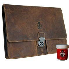 Baron of Maltzahn von Leather Folder, Leather Bag, Brown Leather, Mac Book, Briefcase For Men, Baron, Messenger Bag, Etsy, Wallet