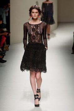 Alberta Ferretti SS14 at Milan Fashion Week 2013