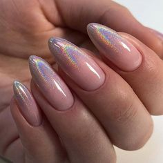 43 Perfect Almond Nail Ideas You Should Definitely Try - Esminity - Skin Care, Nails , Body Makeup, Summer Skin Care Almond Acrylic Nails, Almond Shape Nails, Cute Acrylic Nails, Cute Nails, Pretty Nails, Summer Acrylic Nails Designs, Cute Almond Nails, Glitter Nails, French Nails