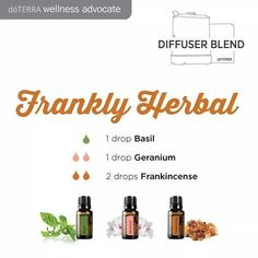 I can honestly say that I've never thought to pair these oils together but the combination is actually really pleasing! Not to mention the wonderful aromatic benefits of each oil. Yes please!!   #essentialoils #diffuserblend