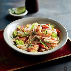 For a vegetarian version, swap in cubes of drained, pressed tofu for shrimp, and use soy sauce in place of fish sauce.