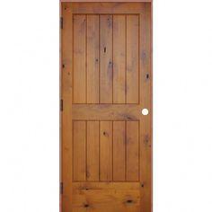 It's fantastic!  Go look at these Twelve ideas all in regards to #contemporaryfrontdoors Pine Interior Doors, Prehung Interior Doors, Prehung Doors, Wood Exterior Door, Timber Door, Exterior Doors With Sidelights, Rustic Doors, Wooden Doors, Wood Room Divider