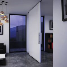 There are basically two types of barn door hardware. The first is a rustic, flat track sliding door system The second is a more modern roller and track style Interior Doors For Sale, Barn Doors For Sale, Double Doors Interior, Interior Barn Doors, Modern Interior, Interior Design, Cheap Barn Door Hardware, Sliding Door Hardware, Sliding Barn Door Hardware