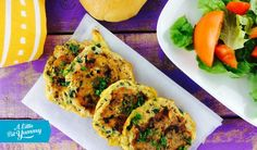 Tasty Salmon Fritters » A Little Bit Yummy