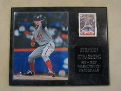 Stephen Strasburg - Washington Nationals plaque - New Lower Pricing!!