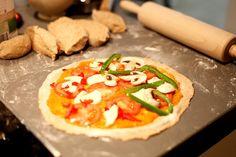 Cómo congelar pizzas caseras ya preparadas.