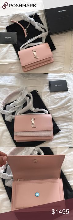 ⚡️ONE DAY SALE ONLY⚡️YVES SAINT LAURENT SUNSET BAG PRICE FIRM FOR ONE  DAY⚡️STILL SELLING IN STORES FOR RETAIL Pink color 4cc33350c0f01