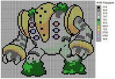 486 Regigigas by cdbvulpix on DeviantArt Pokemon Cross Stitch, Cross Stitch Bookmarks, Cross Stitching, Cross Stitch Embroidery, Cross Stitch Patterns, Pokemon Craft, Art Pokemon, Pokemon Pokedex, Pokemon Memes