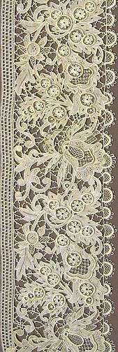 Broderie anglaise.