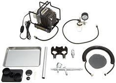 Mr.リニアコンプレッサー L5/プラチナブラシ/圧力計付レギュレーターセット PS305