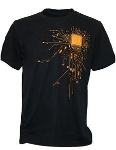 Computer cpu core heart tshirt men's geek nerd freak hacker pc gamer tee summer short sleeve t shirt euro size sxxxl Cool Shirts, Tee Shirts, Shirt Men, Shirt Price, Summer Shorts, Branded T Shirts, Shirt Designs, Geek Stuff, Mens Tops
