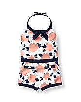 Floral Print Swimsuit
