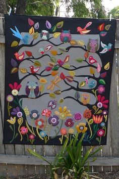Great applique quilt