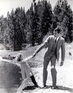 Gary Cooper  Shirley Temple