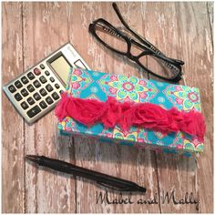 A personal favorite from my Etsy shop https://www.etsy.com/listing/293308979/handmade-fabric-checkbook-cover