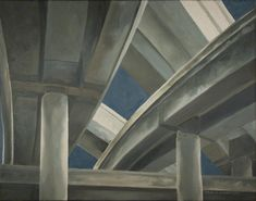 Brad Blackman Melrose Interchange oil on canvas 18 X 24 inches 2012