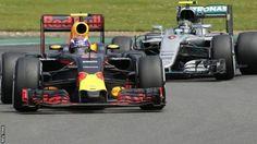 British Grand Prix: Nico Rosberg penalised for radio message