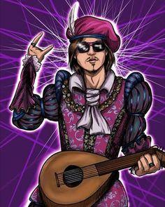 The Rockstar #thewitcher #thewitcher3 #dandelion #jaskier #poet #geralt #cdprojektred #fanart