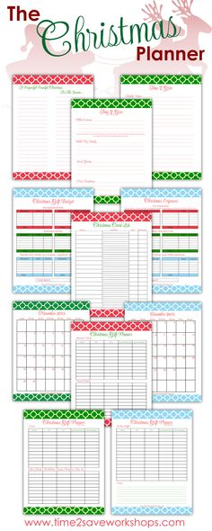 Tweetemail tweetemail share the post quot printable christmas planner a