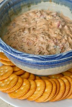 Spicy Sausage Dip!  I am always looking for new easy dip ideas for a party, tailgate or whatever it may be!