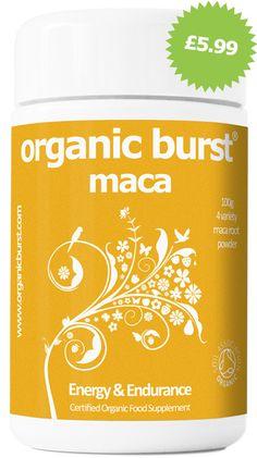 Organic Burst powders & supplements