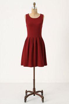 cb8f5b544738 Noon & Night Dress #Anthropologie Cute Red Dresses, Fall Dresses,  Holiday Dresses