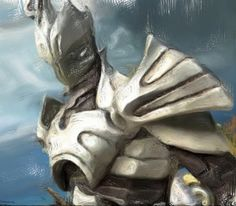 Infinity Blade God King by TrueNights