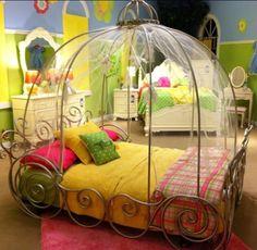 cama-divertida-menina-carruagem