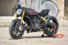 Ducati Scrambler Showstopper, special by Marcus Waltz