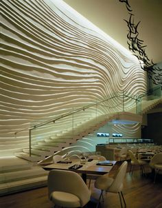 Yabu Pushelberg, W Hotel in Times Square. I WANT to go here...