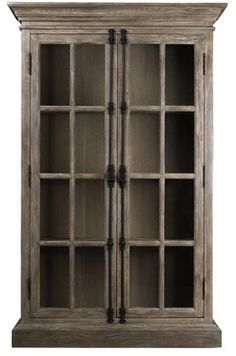 Parisian Oak Display Cabinet - traditional - Storage Units And Cabinets - New York - Zin Home