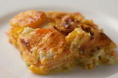 Butternut Squash and Sweet Potato Gratin