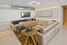 Projeto de Arquitetura Moderna Flexível Apartamento de Ferias no Brasil Enfatizando texturas Modernos