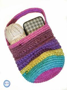 Crochet Star Pop Bag