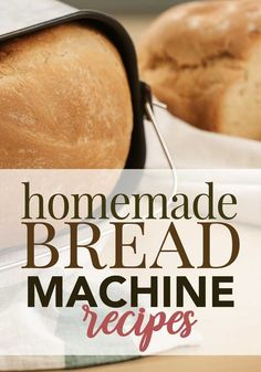 Here are some of the best homemade bread recipes you can make in a bread machine! bread recipes breadmaker Easy Homemade Bread Machine Recipes - Five Spot Green Living Bread Machine Recipes Healthy, Bread Maker Recipes, White Bread Machine Recipes, Recipe For Bread In A Bread Maker, Banana Nut Bread Recipe Bread Machine, Bread Recipes With Yeast, Breadmaker Bread Recipes, Yeast Bread, Muffin Recipes
