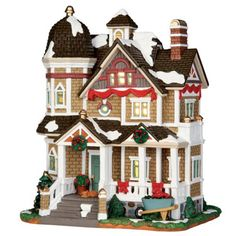 Lemax Collectibles, Lemax Harvest Crossing Lighted Building The Williams House #45689 - American Sale