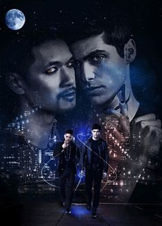 alec lightwood, alec and magnus, and harryshumjr image