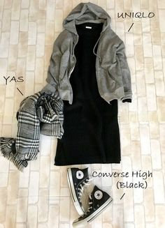 Best Picture For minimalist fashion For Your Taste You are looking for something, and it is goin Fashion D, Hijab Fashion, Fashion Outfits, Womens Fashion, Fashion Trends, Modest Outfits, Fall Outfits, Minimal Wardrobe, Mode Style