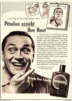Werbung - Original-Werbung/ Anzeige 1955 - PITRALON - ca. 110 x 155 mm